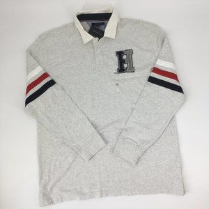 Tommy Hilfiger Rugby Classic Fit Gray Polo Shirt